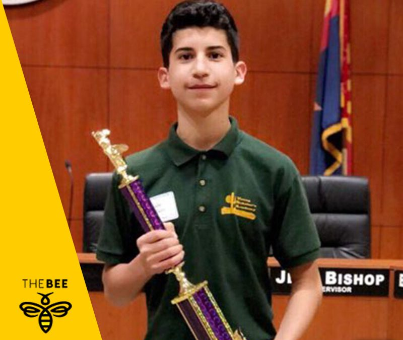 **Local Student Takes Top Honors At Spelling Bee**