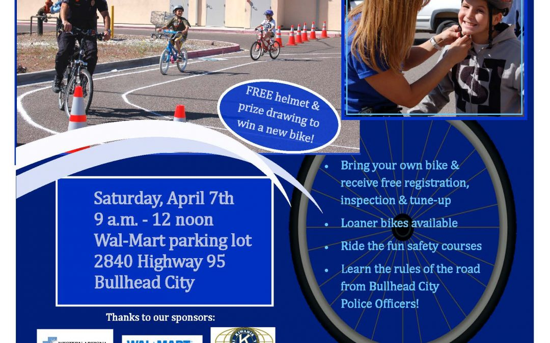 Bicycle Safety Rodeo -April 7th