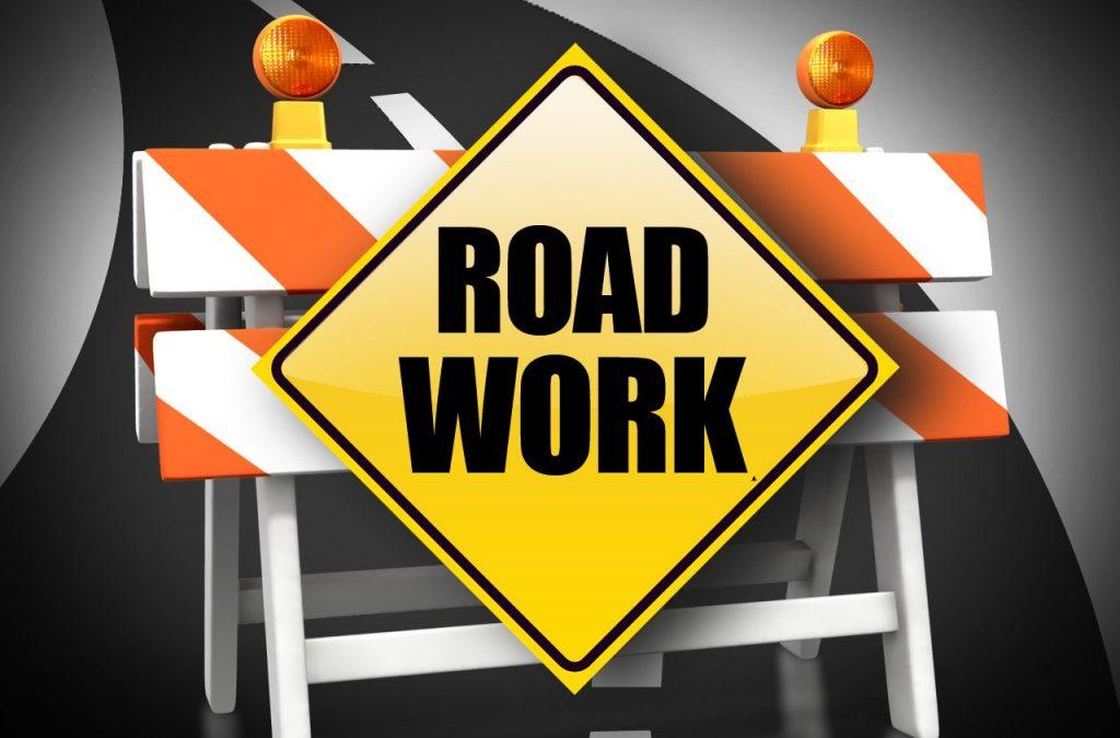 Road Work Scheduled For Next Week