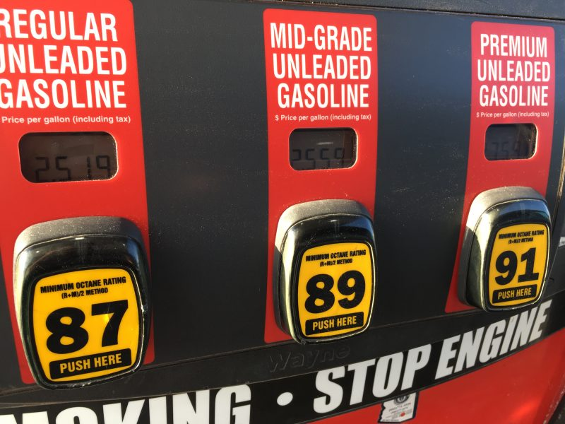 Gas prices inch closer to $3 a gallon