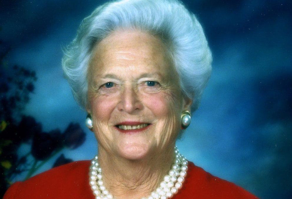 Flags Ordered Half Staff For Former First Lady Bush