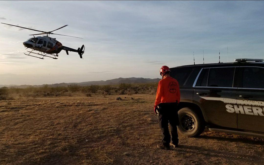 Hiker Rescued After GPS Dies