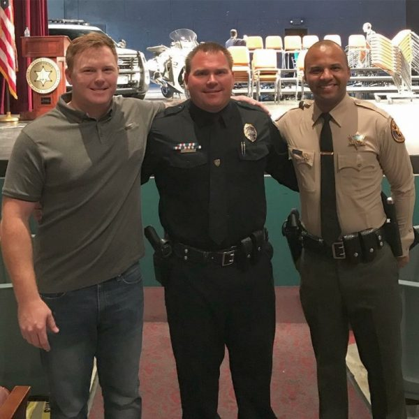 BHCPD Officer Reunites 12 Years Later With Boys Who Saved His Life
