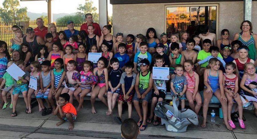 Swim Lessons Offered at Bullhead Municipal Pool