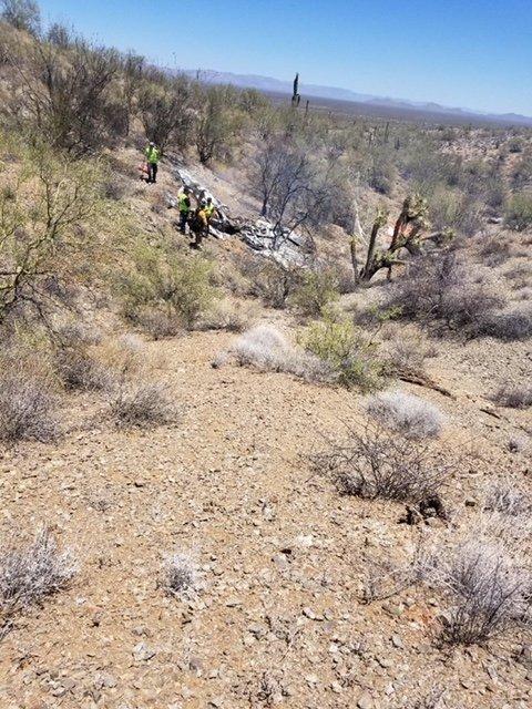 One Injured In Plane Crash Near Wickenburg