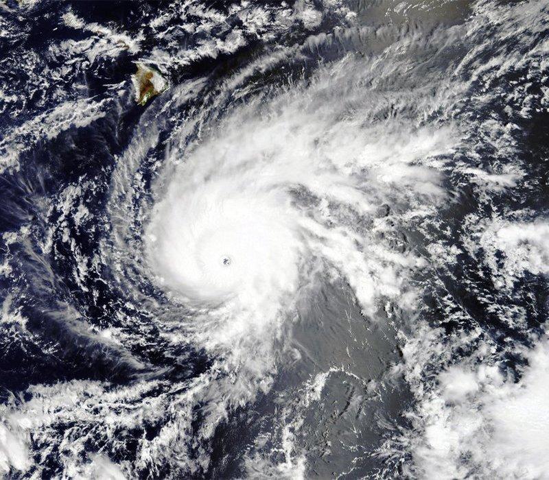 Drenching Rain Hits Big Island As Hurricane Lane Approaches