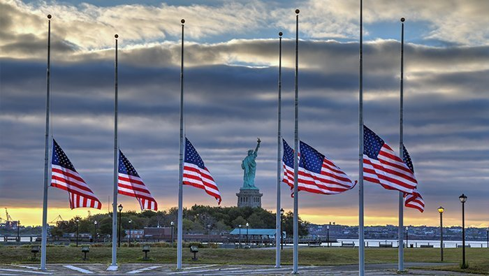 Flags Ordered To Half Staff For Pittsburgh Shooting Victims