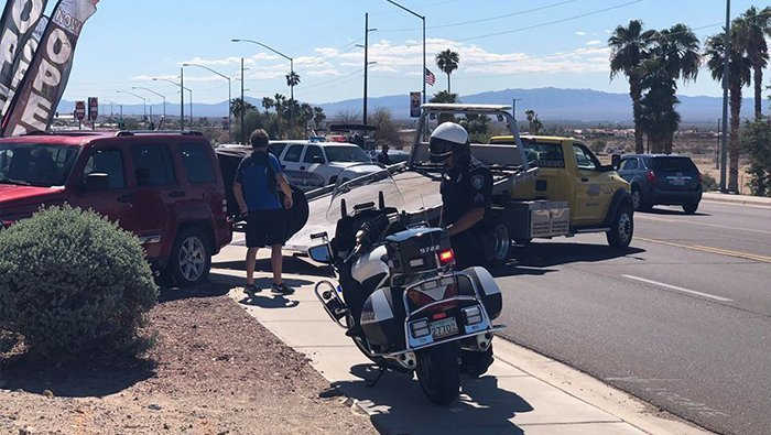 One Injured In Highway 95 Crash