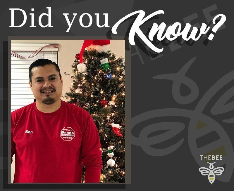 Did You Know–Baron Employee Spotlight