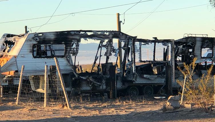 One Dead In Early Morning Fire