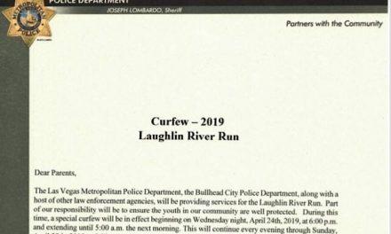 Curfew in effect through Sunday