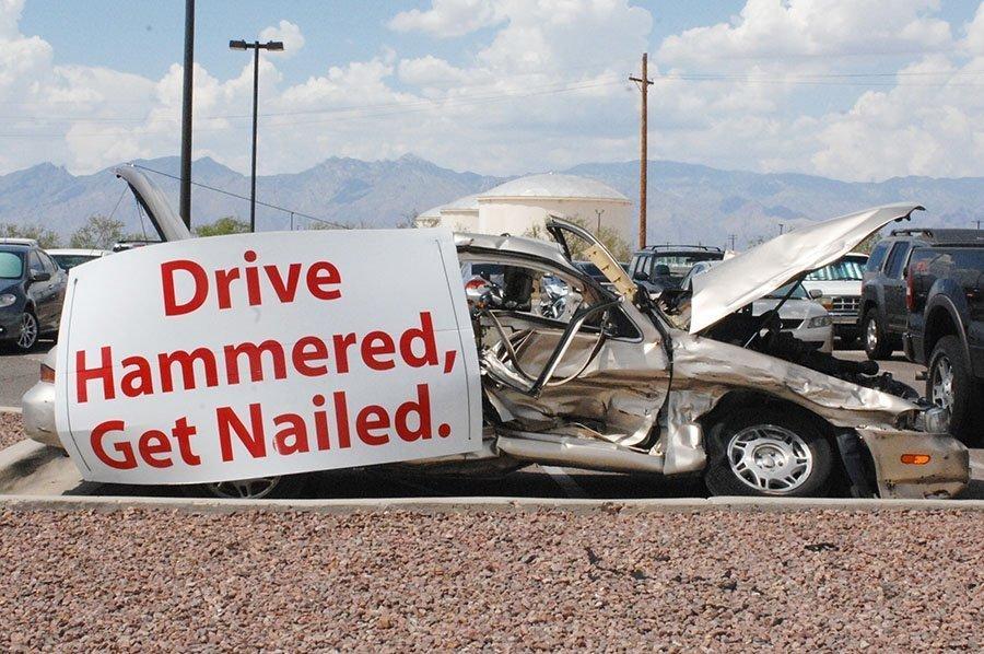 Drive Hammered Get Nailed! - The Bee -The buzz in Bullhead City - Lake Havasu City - Kingman - Arizona - California - Nevada
