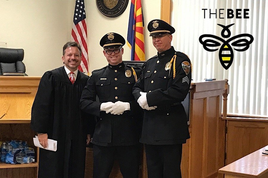 Kingman Police Department Honor Guard Honored