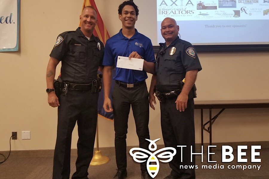 LHPD Explorers Receive Donation