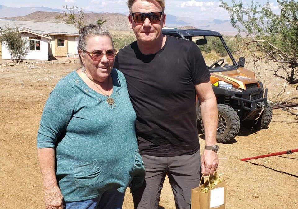 Gordan Ramsay filming in Kingman Arizona!