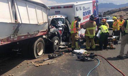 UPDATE: Injury Crash on Coyote Pass