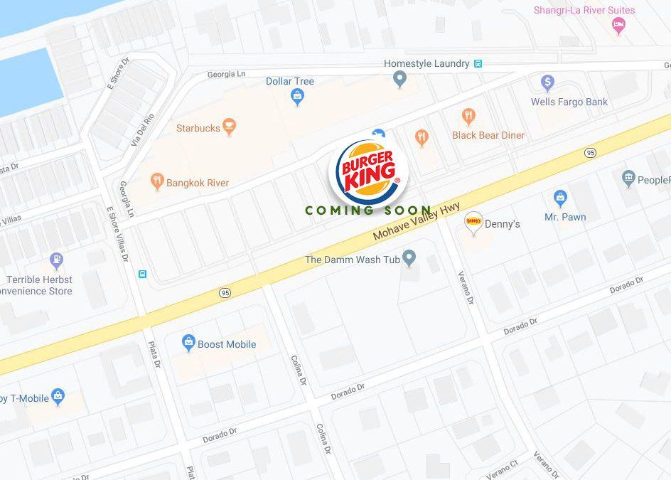 Burger King under construction