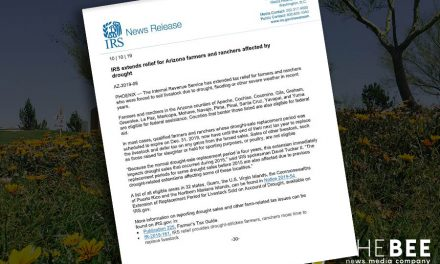 IRS extends relief for Arizona farmers and ranchers affected by drought