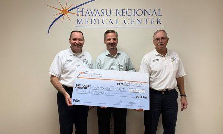 HRMC DONATES $15,000 FOR COMMUNITY HEALTH PROGRAM