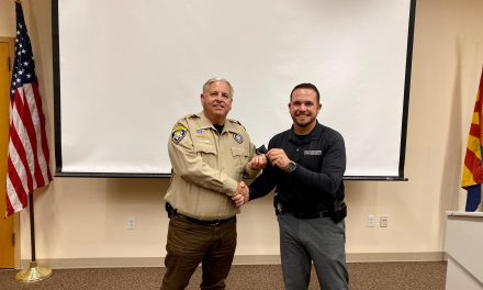 Promoted to Field Training Officers within the Sheriff's Volunteer Posse Program