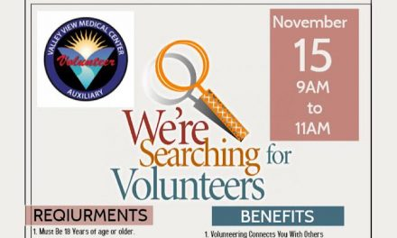 Valley View Medical Center Auxiliary's Volunteer Recruitment Event 11/15