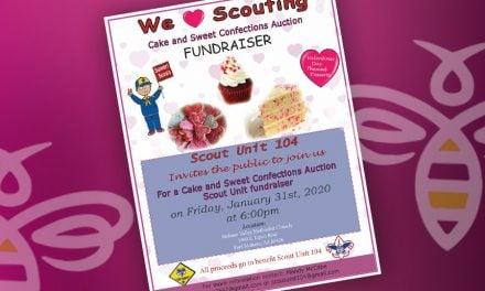 Scout Unit 104 is hosting a Cake and Sweet Confections Fundraiser