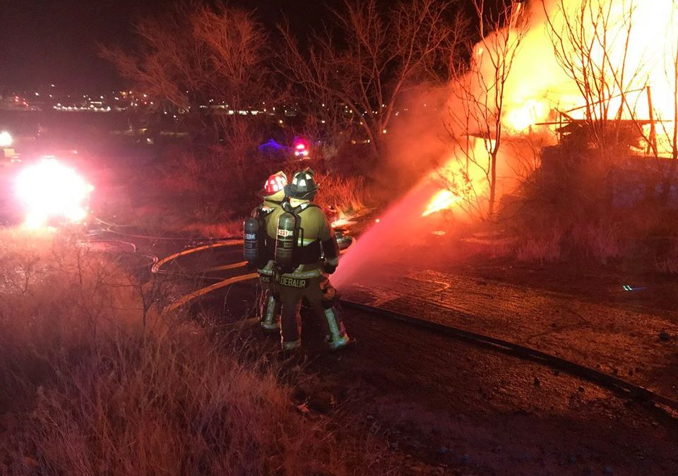 Residential House Fire