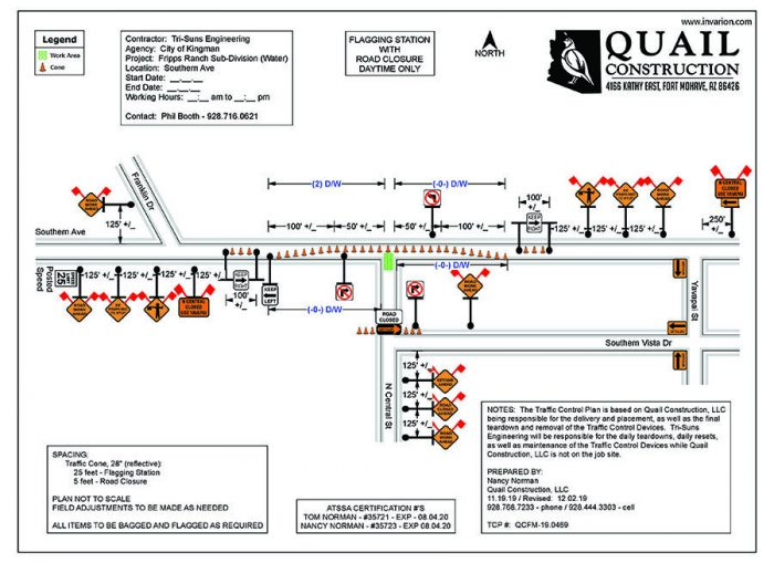 Lane Restrictions and Closures in Effect