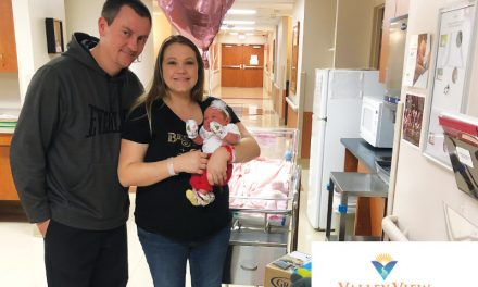 First Baby of 2020 at Valley Valley Medical Center
