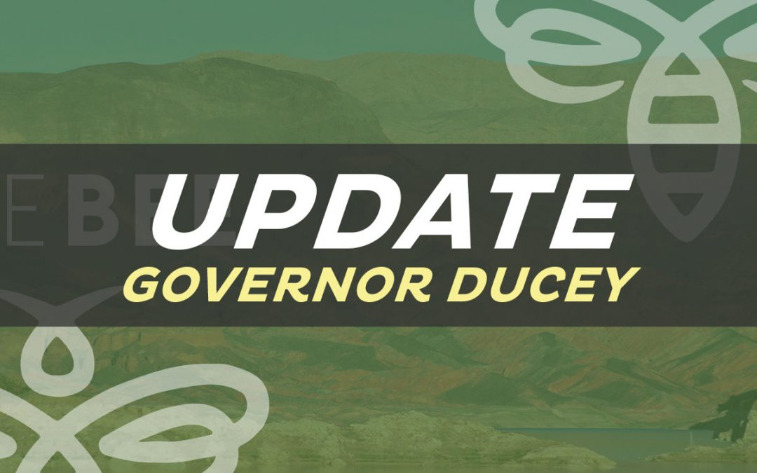 Today's Update from Governor Ducey (6 new priorities)