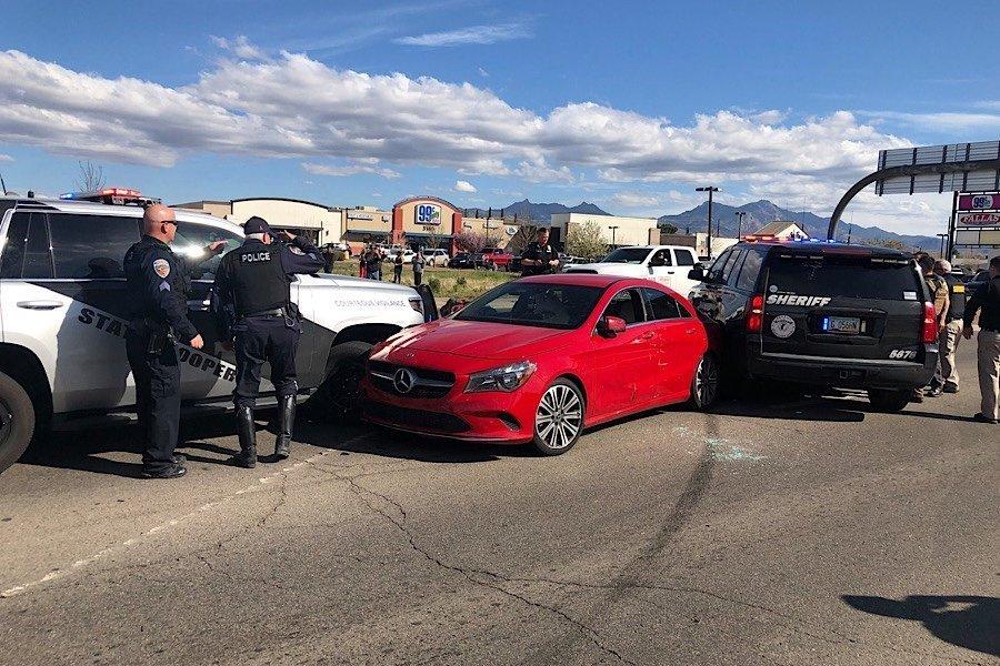 Police pursuit into Kingman