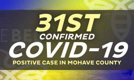A New Positive Case in Lake Havasu City Area