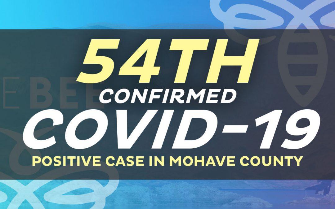 2 New Positive Cases: 1 in Lake Havasu City  & 1 in Kingman Area