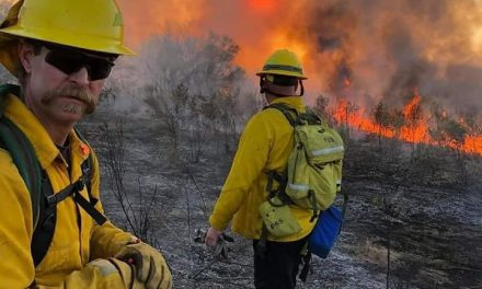 150+ acre wildfire in Mohave Valley