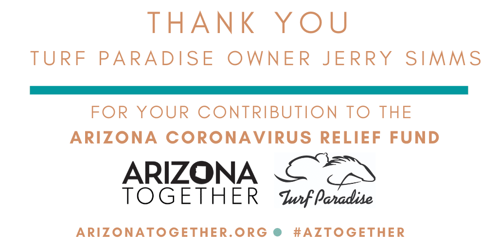 Turf Paradise Owner Donates $1 Million To Support Medical Professionals, Arizonans In Need