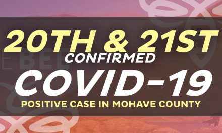 There Are Now 21 Cases That Tested Positive in Mohave County 1 Death is Included