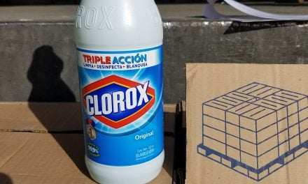HSI Nogales seizes several hundred bottles of diluted cleaning products
