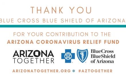 Blue Cross Blue Shield Of Arizona Makes Donation To Support Coronavirus Relief Effort