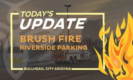 Riverside Parking Lot Brush Fire