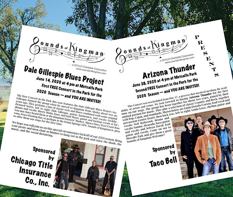 June Concerts in the Park