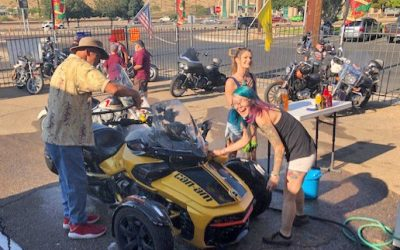 Thunder-Rode Bike Wash Raises Money for Homeless Veterans