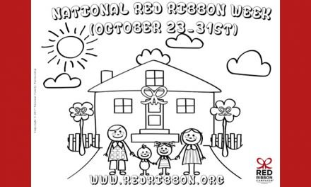 Red Ribbon Coloring Contest