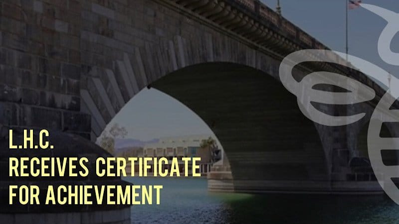 Lake Havasu City Receives Certificate of Achievement for Excellence in Financial Reporting