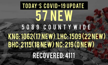 57 New COVID-19 Cases