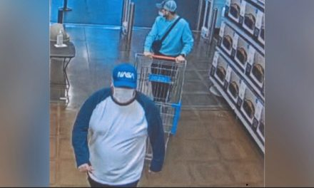 **Kingman Police Seeks the Public's Assistance in Identifying Two Male Subjects for Credit Card Fraud, Theft of Credit Cards & Shoplift**
