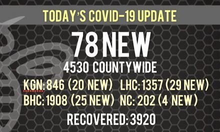 78 New COVID-19 Cases