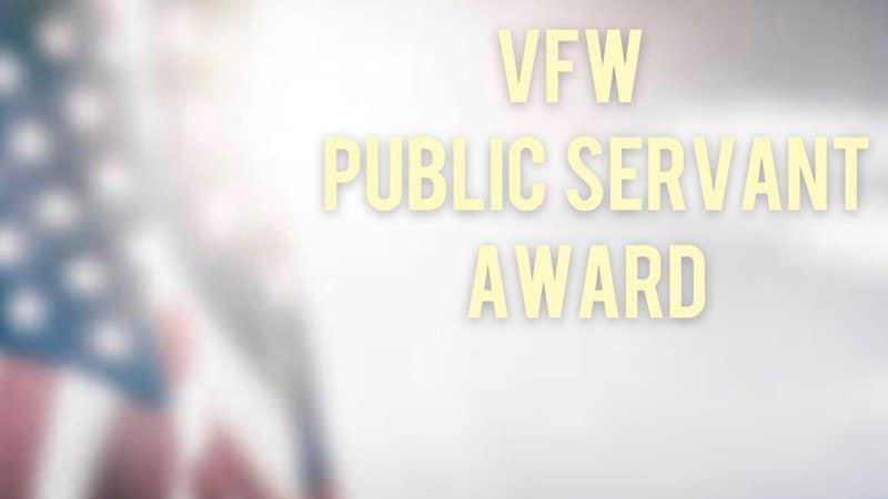 VFW Public Servant Awards