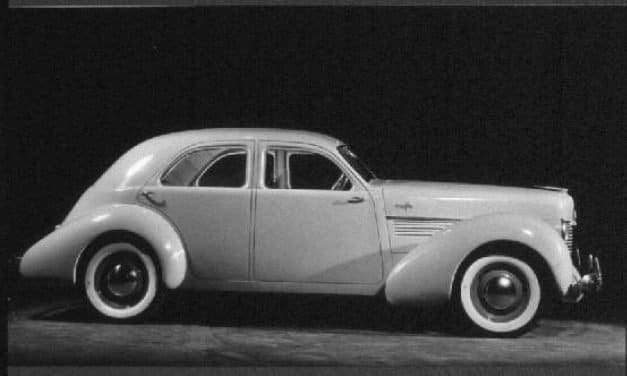 The Cord Behind The Hupmobile