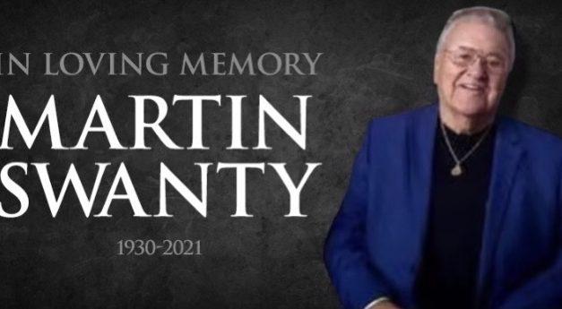 Martin Ernest Swanty Oct. 19, 1930 to Jan. 21, 2021