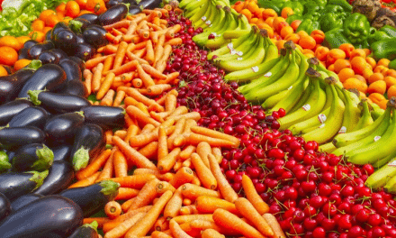 Why are fruit and vegetables important for healthy bodies?